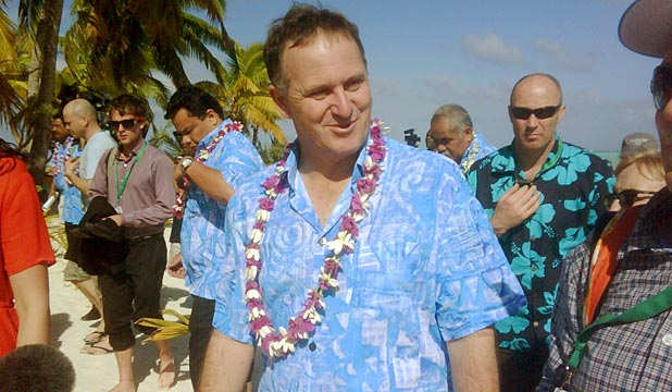 John Key at Pacific Islands Forum