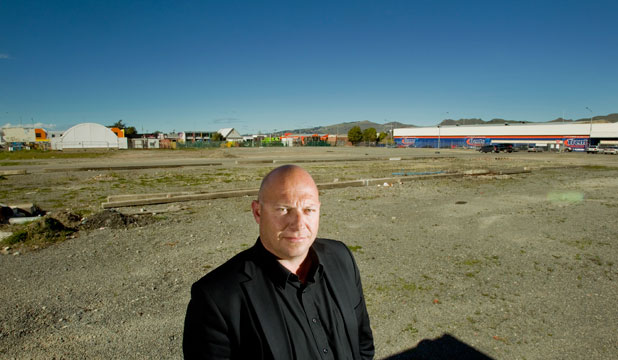 Christchurch developer Jamie Thomas, of JGM Group, wants to build temporary accommodation for rebuild workers on the  Turners & Growers site.