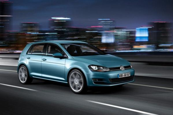 The 2013 Volkswagen Golf.