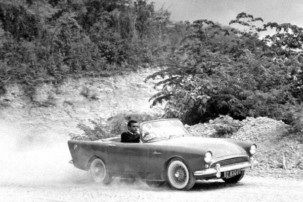 Sunbeam Alpine Series 5 from the James Bond movie, Dr. No (1962)