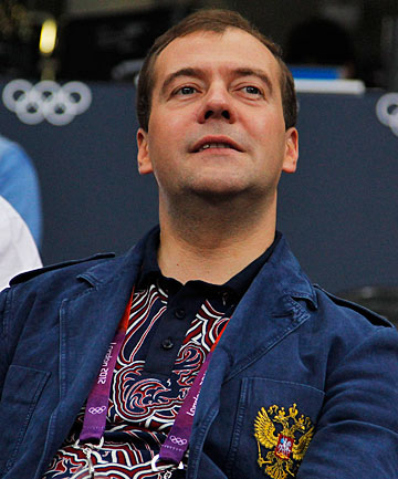 Prime Minister Dmitry Medvedev