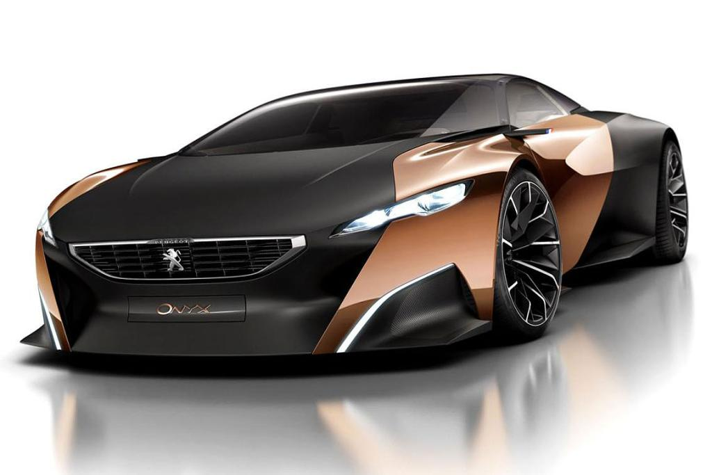 Peugeot's Onyx supercar will be unveiled at the 2012 Paris motor show.