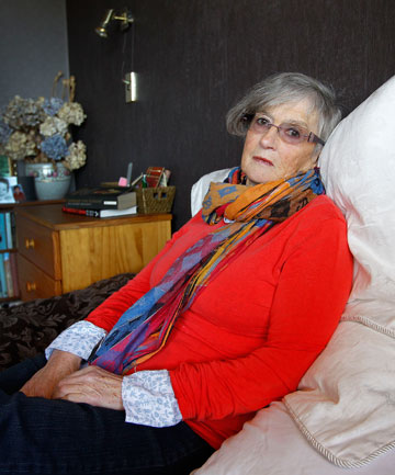 Merran Plunket, of Paraparaumu, says she was gobsmacked when her five hours of home aid were cut to three, despite her condition worsening. After negotiations, she has managed to retain five hours help, but says she needs more. 