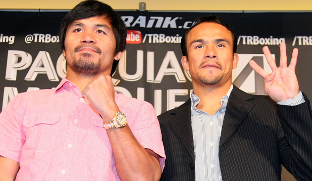 Manny Pacquiao and Juan Manuel Marquez