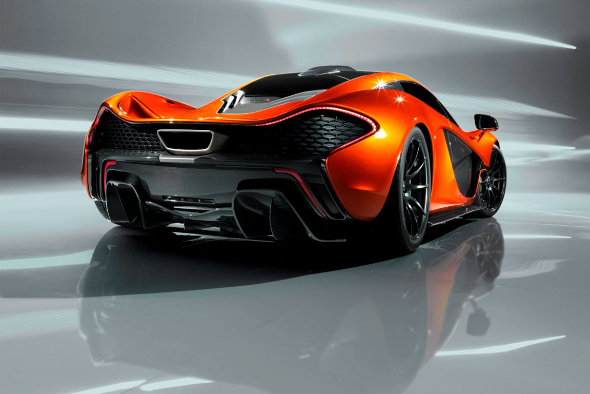 Mclaren Reveals The Dangerously Powerful P1 Engine
