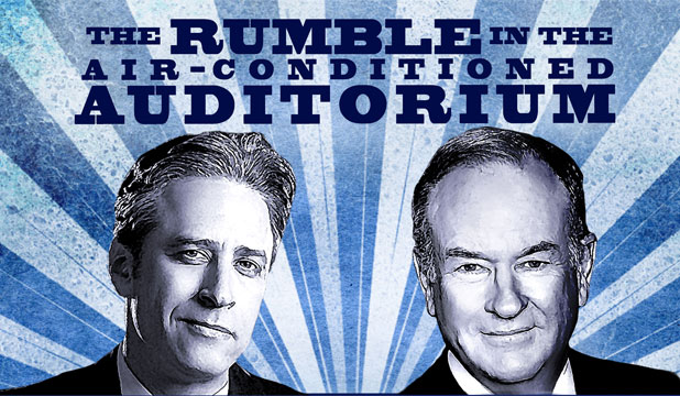 Jon Stewart vs Bill O'Reilly
