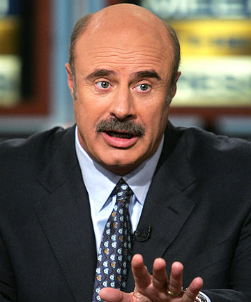 Talk show host Dr Phil McGraw.