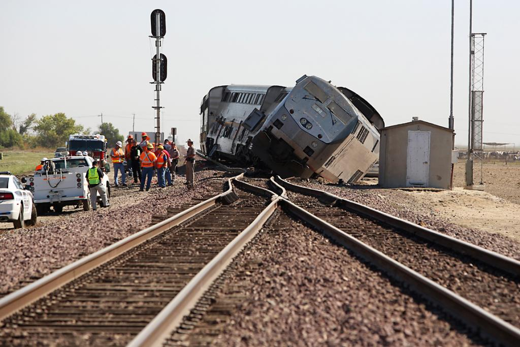 Amtrak derailment