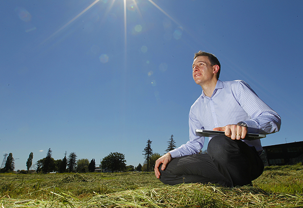 SKY'S THE LIMIT: University of Waikato theoretical chemist Joseph Lane has been awarded a $345,000 Marsden fund to study nitrous oxide.