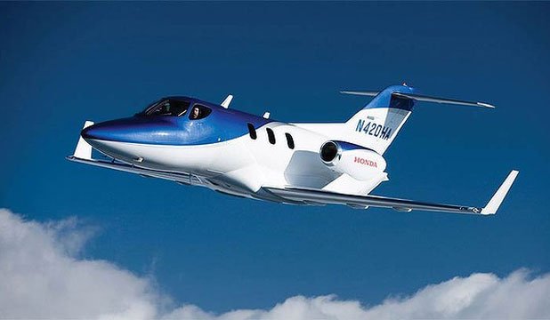Honda's latest creation, a jet capable of cruising at 780 km/h.