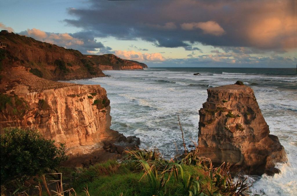 Muriwai beach and Maori Bay