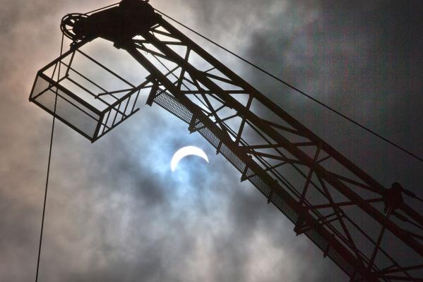 Auckland solar eclipse