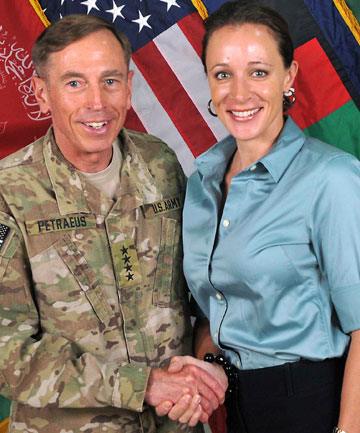 David Petraeus Paula Broadwell