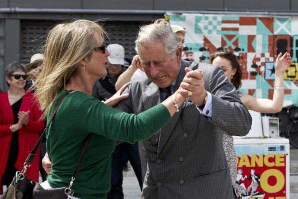 Prince Charles and Camilla visit Christchurch