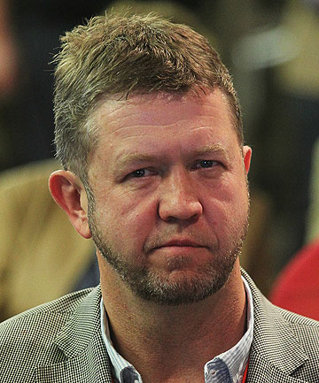 THE RIVAL: David Cunliffe