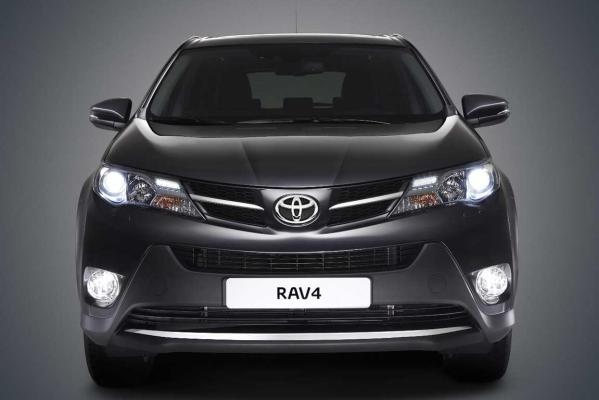 An official Toyota photo of the new RAV4.