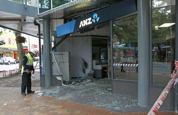 ANZ Bank crash