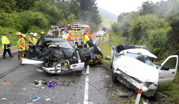 Pelorus Crash