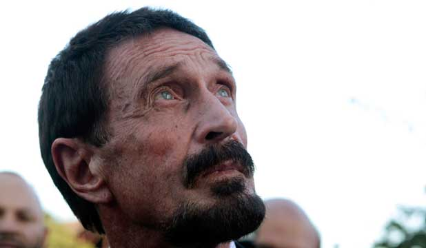 REJECTED: John McAfee's request for Asylum has been denied by Guatemala.