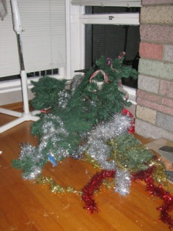Drunk Xmas Tree