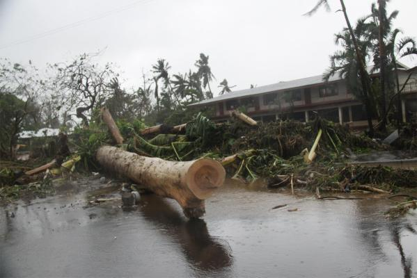 Cyclone Evan in Samoa