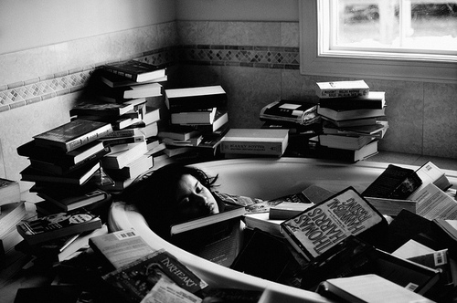 Drowning in books