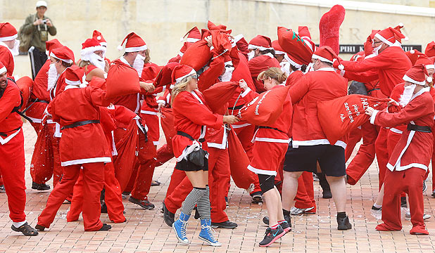 Santa Claus Flashmob