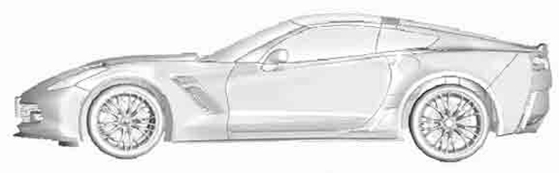 A picture leaked on the internet purports to show the new Chevrolet Corvette.