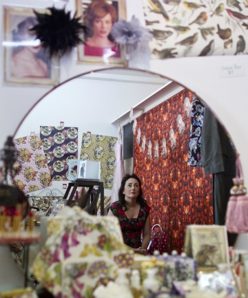 Christine Wilkinson, of The Vintage Cupboard in Mairehau