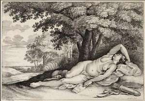 Sleeping Huntress, Mackelvie Trust Collection, Auckland Art Gallery Toi o Tāmaki, bequest of Dr Walter Auburn, 1982