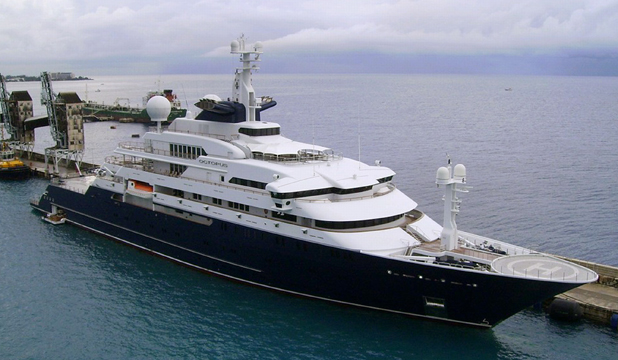 octopus superyacht