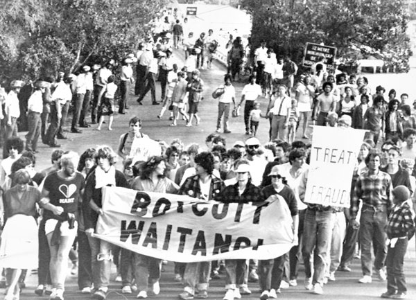 Waitangi Day: Then and now