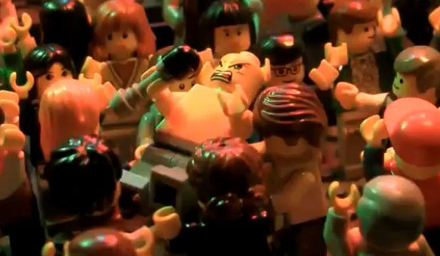 Lego moshing