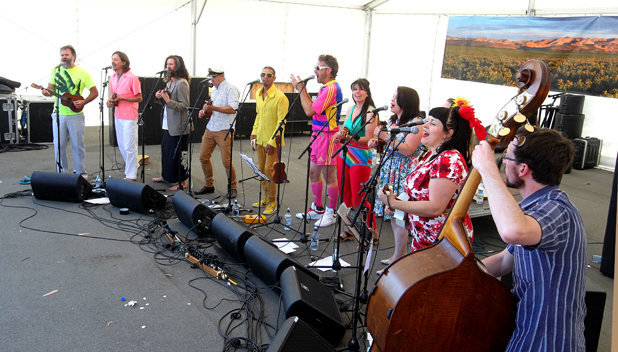The Wellington International Ukelele Orchestra
