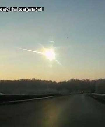 Russian meteor