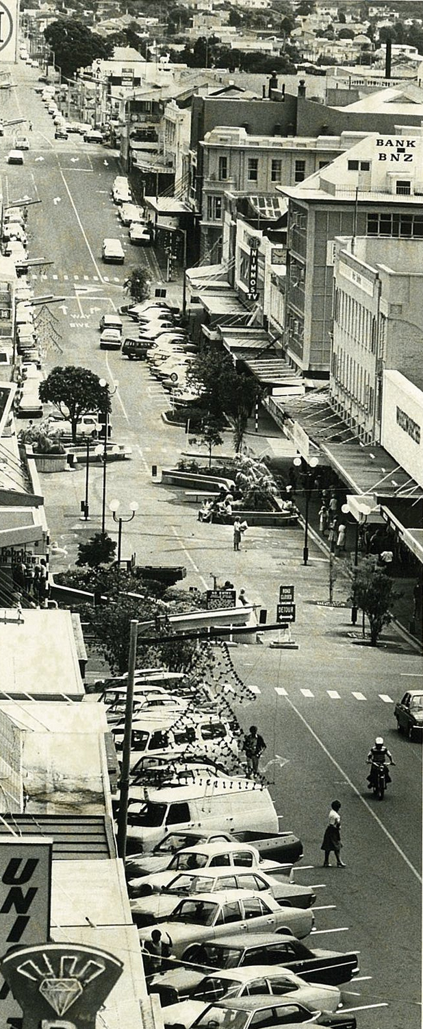 From the Archives  New Plymouth's changing streets