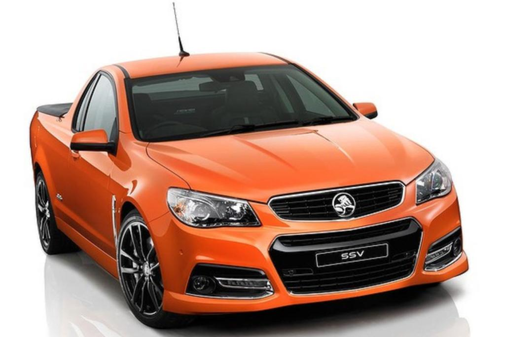 2013 VF Commodore ute.