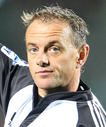 UNDER CLOSER SCRUTINY: New Zealand referee Chris Pollock.