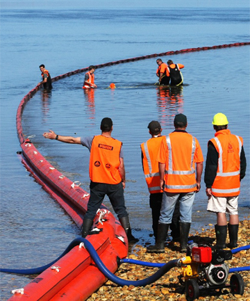 Oil Spill drill