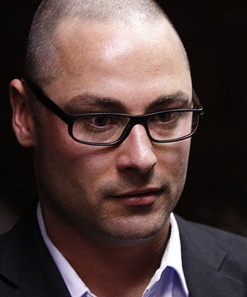 BROTHER IN TROUBLE: Carl Pistorius, brother of