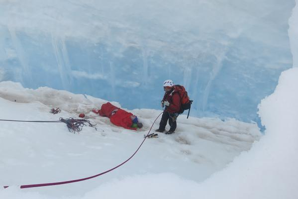 Crevasse rescue
