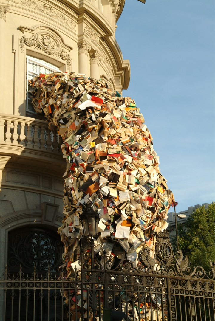 avalanche of books
