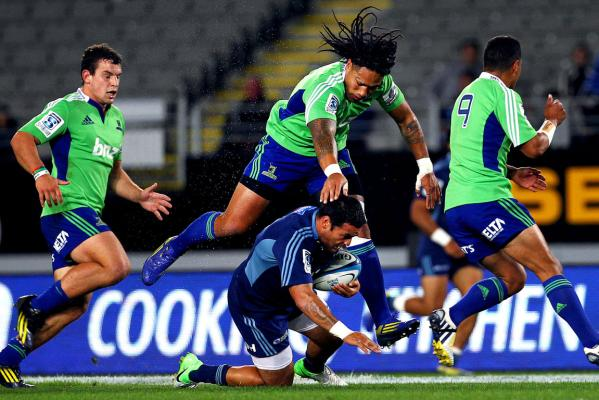 Highlanders v Blues
