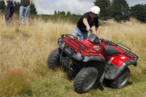 quad bike training
