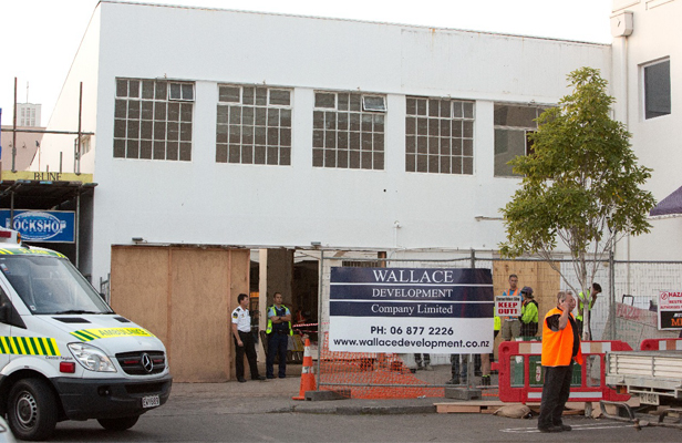 Man who died at a Napier building site is named.