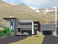 A concept drawing of the new Lyttelton Tunnel by Wellington firm, Architecture Lab.