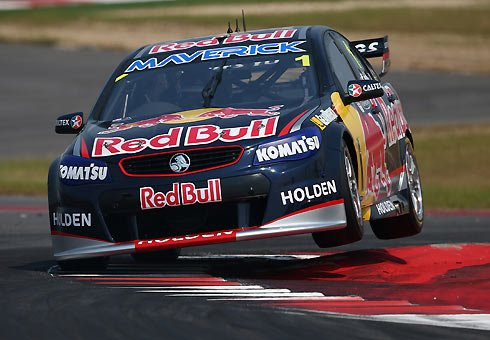 Jamie Whincup has won the V8 Supercars' inaugural race in the United States.