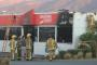Fire at Caltex