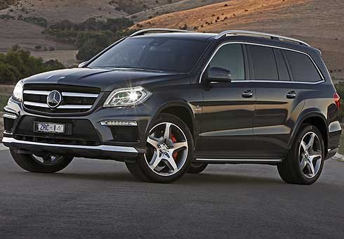 Mercedes-Benz GL63 AMG