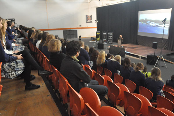 Hawkes Bay students horrified by the result of drink-driving.
